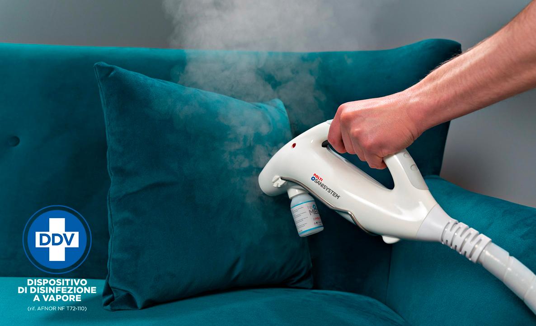 Dispositivi di Disinfezione a Vapore Polti conformi alla norma francese AFNOR NF T72-110 – ambito medicale